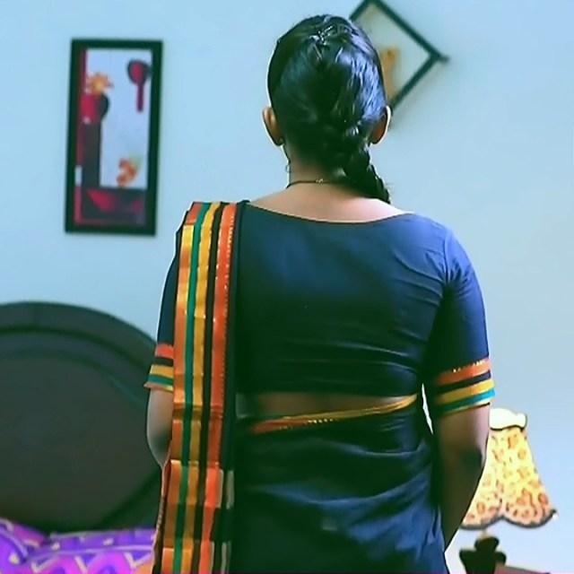 Bhoomi Shetty tv actress Kinnari S3 7 hot saree photo