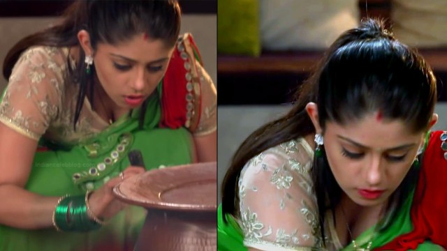 Chandni bhagwanani Hindi tv actress Tumhi HBSTS4 11 hot saree pics