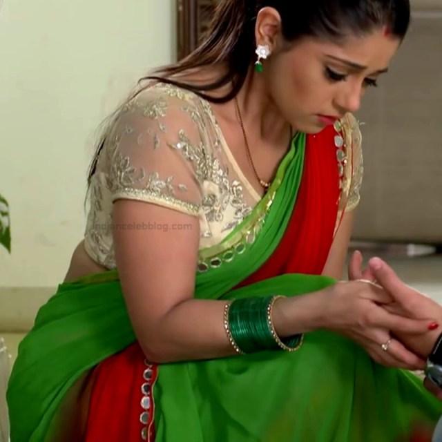 Chandni bhagwanani Hindi tv actress Tumhi HBSTS4 16 hot saree caps