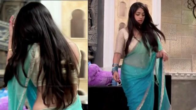 Chandni bhagwanani Hindi tv actress Tumhi HBSTS4 7 hot saree pics