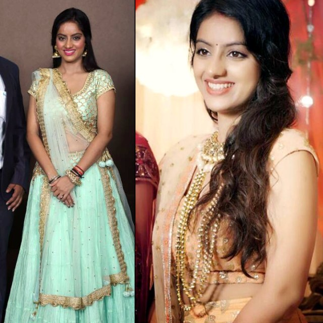 Deepika Singh Hindi TV actress event S1 10 lehenga pics