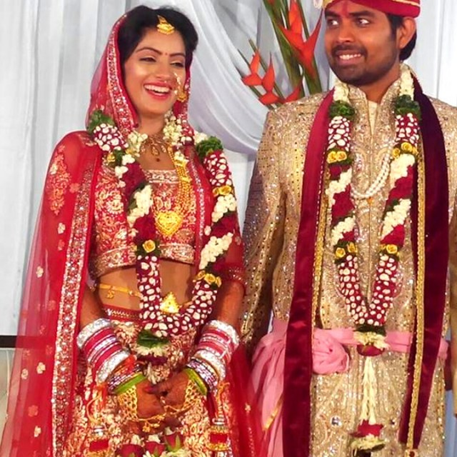 Deepika Singh Hindi TV actress event S1 14 wedding photo