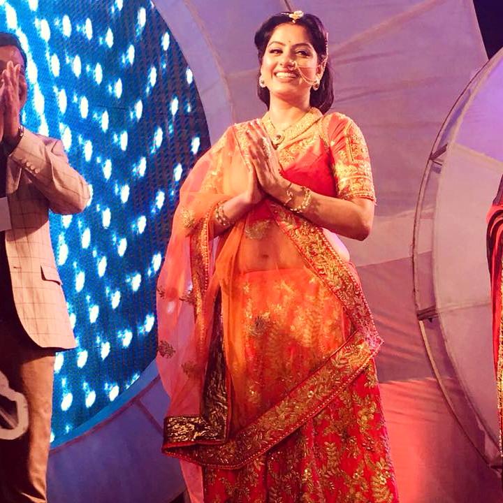 Deepika Singh Hindi TV actress event S1 6 hot lehenga photo