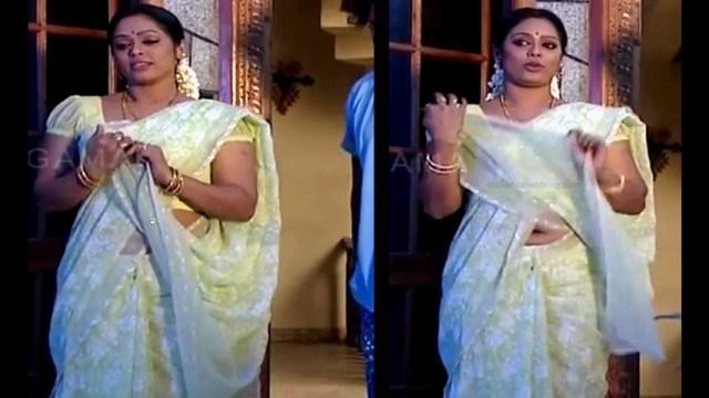 Devipriya tamil tv actress Pondatti TS1 1 hot saree navel pics