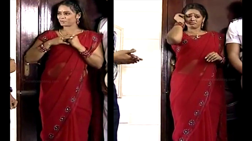 Devipriya tamil tv actress Pondatti TS1 11 hot saree pics