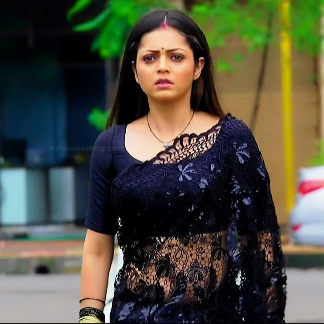 Drashti dhami hindi tv actress Silsila BRKS3 15 hot saree photo