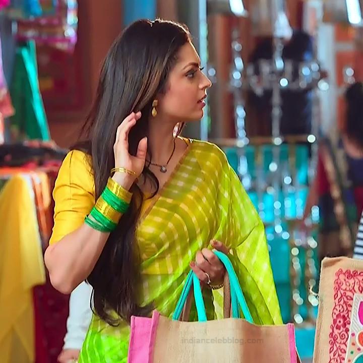 Drashti dhami hindi tv actress Silsila BRKS3 6 hot saree photo