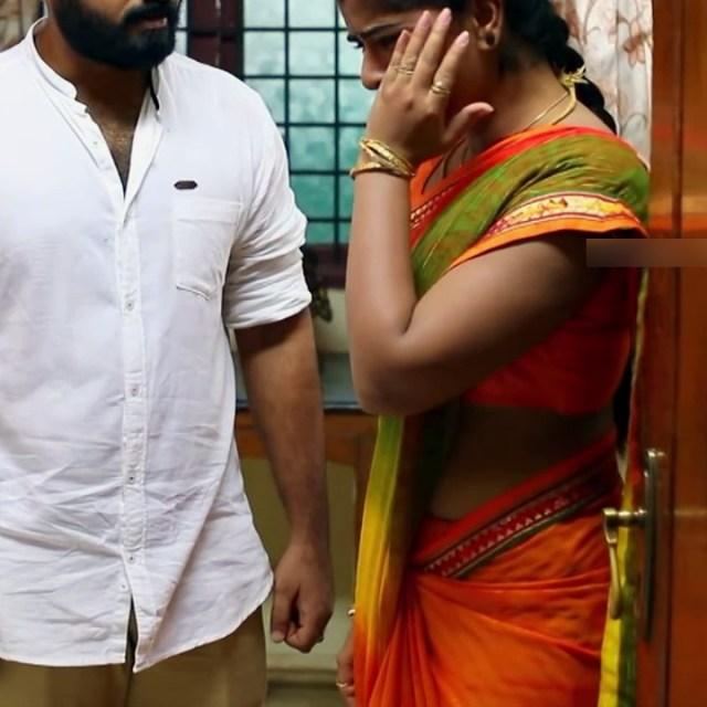 Keerthana podwal tamil tv actress ganga S1 13 hot saree caps