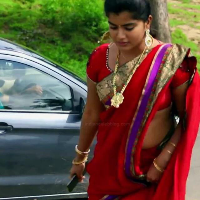 Keerthana podwal tamil tv actress ganga S1 5 hot saree photo