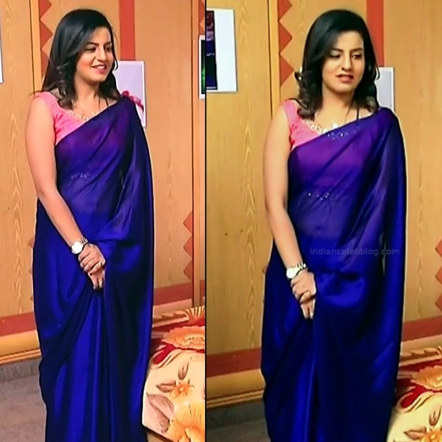 Namratha gowda kannada tv actress Putta GMS1 12 hot sari pics