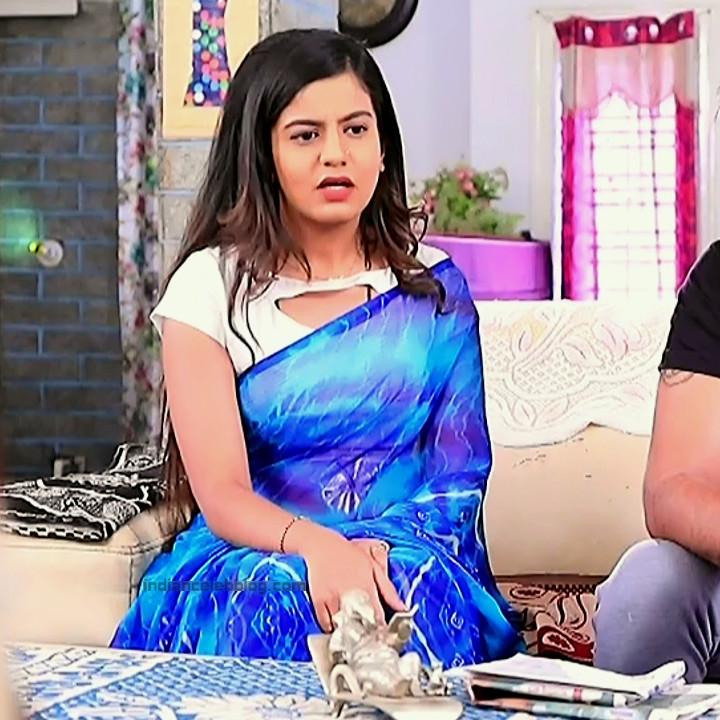 Namratha gowda kannada tv actress Putta GMS1 6 hot saree photo