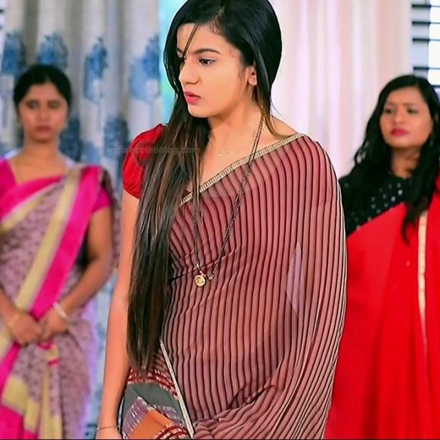 Namratha gowda kannada tv actress Putta GMS1 9 hot saree photo