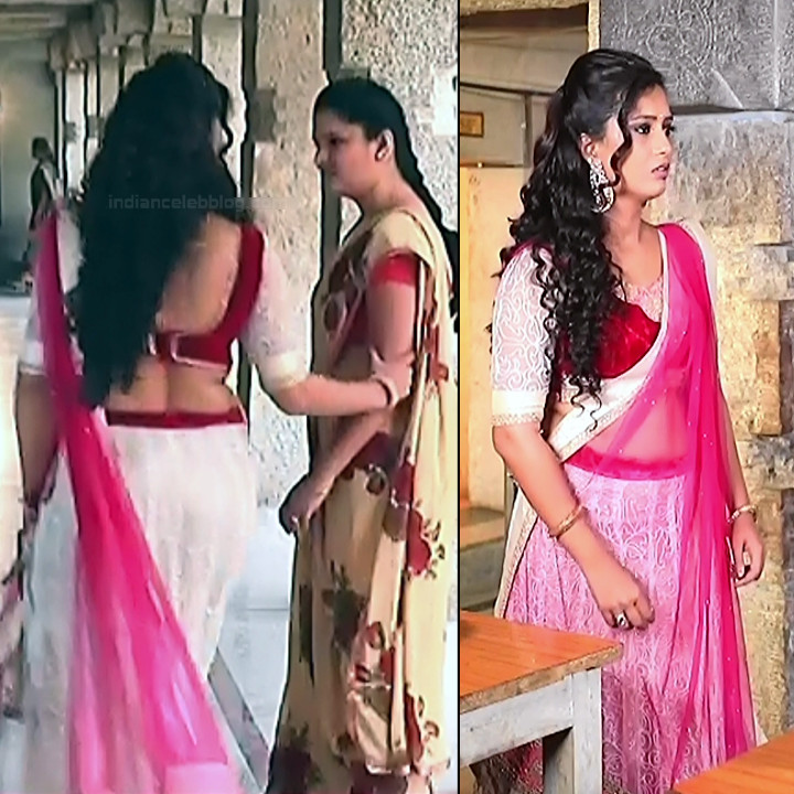 Neha Gowda Kannada tv actress Lakshmi BS1 14 hot lehenga pics