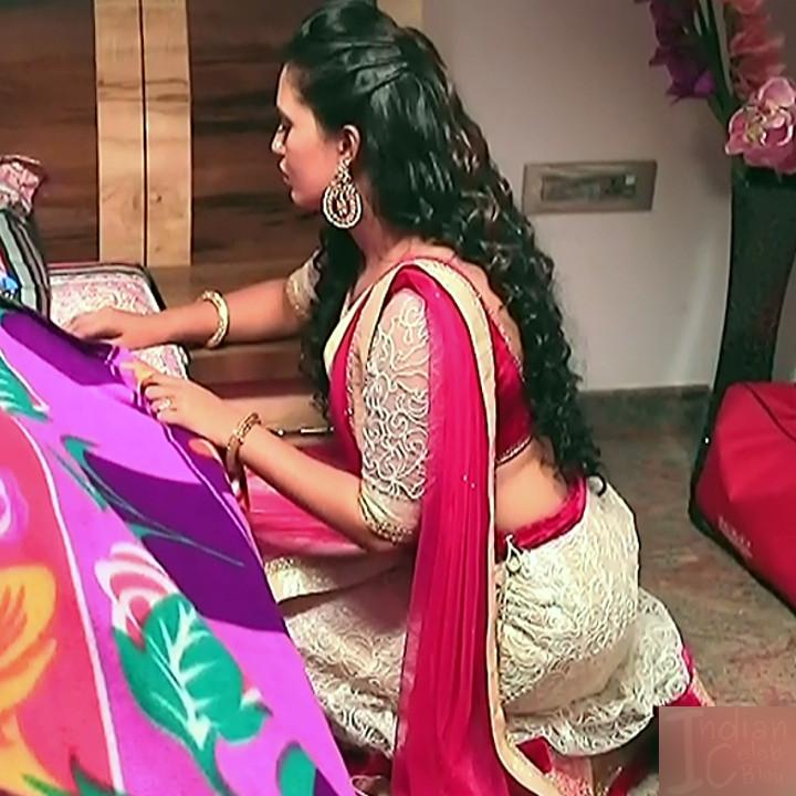 Neha Gowda Kannada tv actress Lakshmi BS1 6 hot lehenga photo