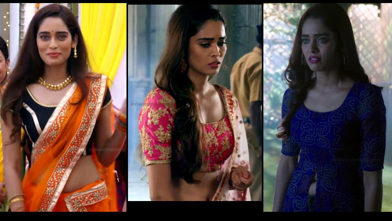 Neha Saxena sexy navel show hindi tv hd caps Siddhi vinayak