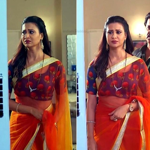Parineeta borthakur hindi tv actress Bepannah S1 14 hot saree caps