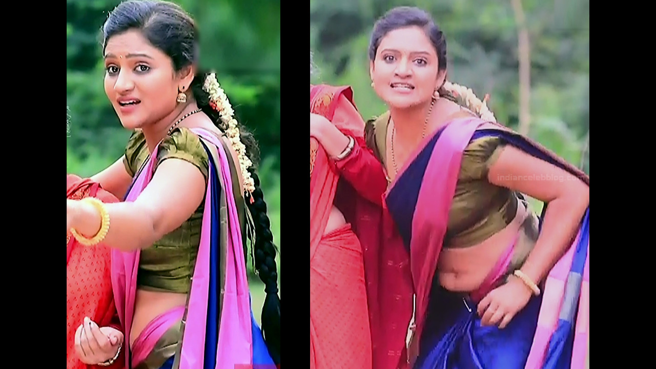 Ranjani raghavan kannada tv actress Putta GMS3 17 hot saree caps
