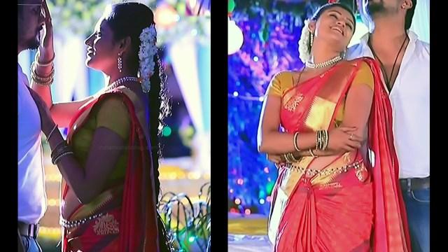 Ranjani raghavan kannada tv actress Putta GMS3 4 hot saree pics