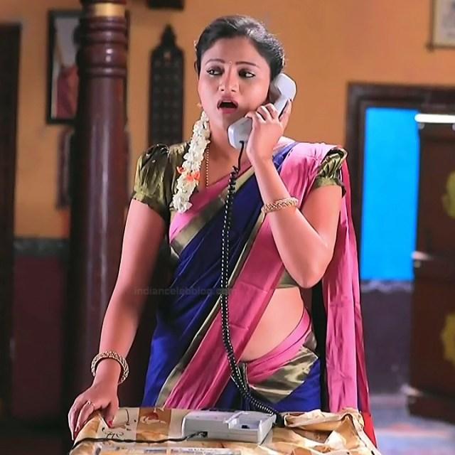 Ranjani raghavan kannada tv actress Putta GMS3 7 hot sari photo