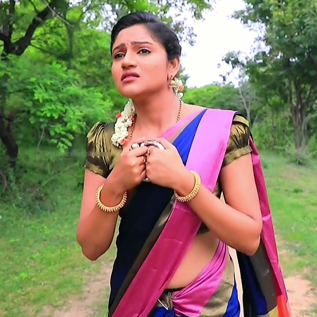 Ranjani raghavan kannada tv actress Putta GMS3 9 hot sari photo