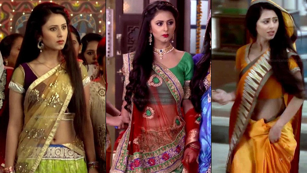 Richa Mukherjee sexy saree navel show hindi tv hd caps