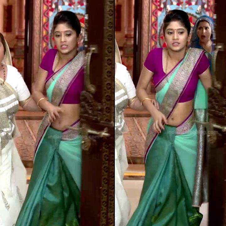 Shivangi Joshi hindi tv actress Begusarai S1 21 hot saree navel pics