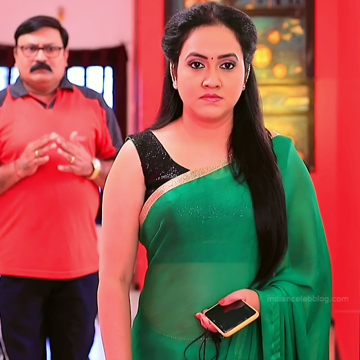 Sindhu Kalyan kannada tv actress PuttaGMS2 11 hot sari photo