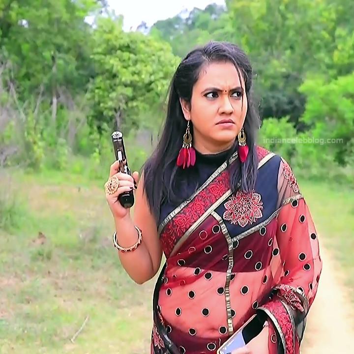 Sindhu Kalyan kannada tv actress PuttaGMS2 4 hot saree photo