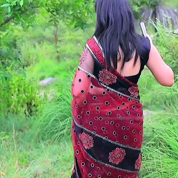 Sindhu Kalyan kannada tv actress PuttaGMS2 9 hot saree caps