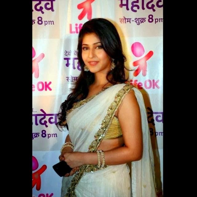 Sonarika Bhadoria hindi tv actress Event CTS3 10 hot saree pics