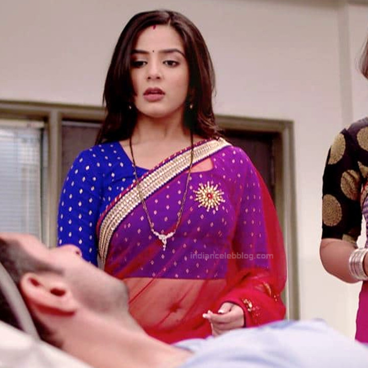 Nikki sharma hindi tv celeb Roop MKNSS2 10 hot saree navel photo