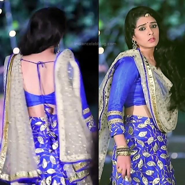 Supritha sathyanarayan kannada tv Seetha VS1 14 hot lehenga pics