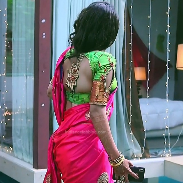 Supritha sathyanarayan kannada tv Seetha VS1 17 hot saree photo