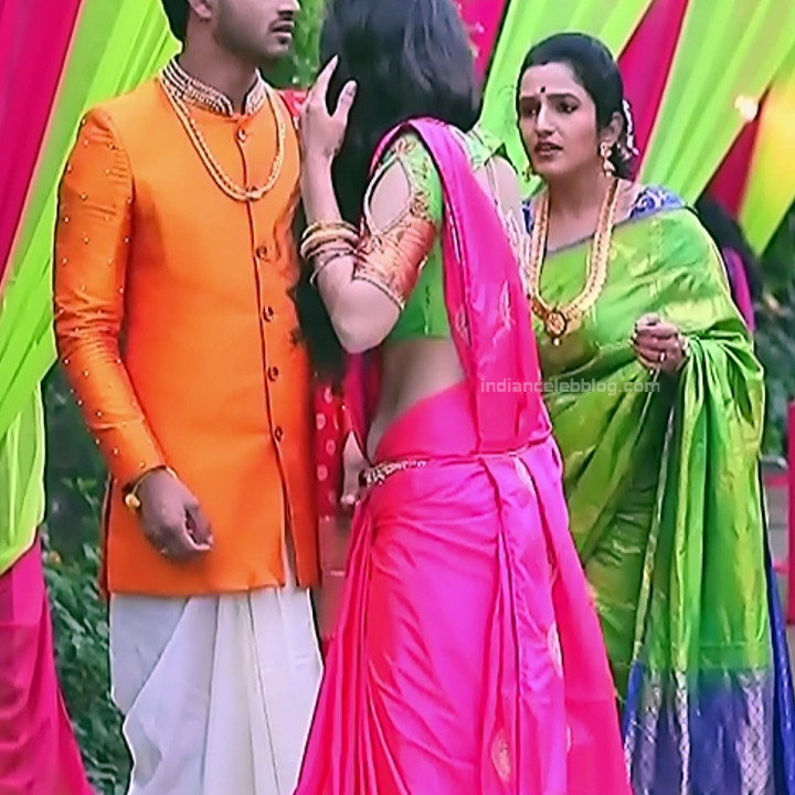 Supritha Sathyanarayan Seetha Vallabha Serial Actress Hot