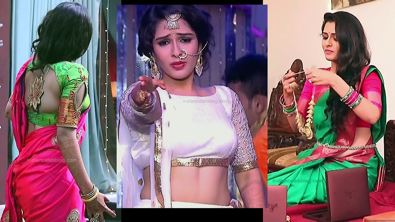 Supritha Sathyanarayan Seetha vallabha serial saree caps