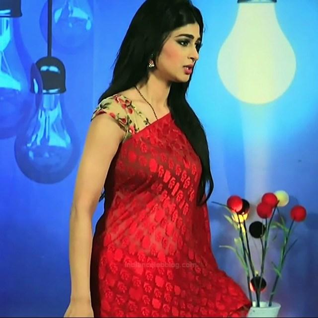 Aditi prabhudeva kannada tv actress Nagakannike S1 4 sari photo