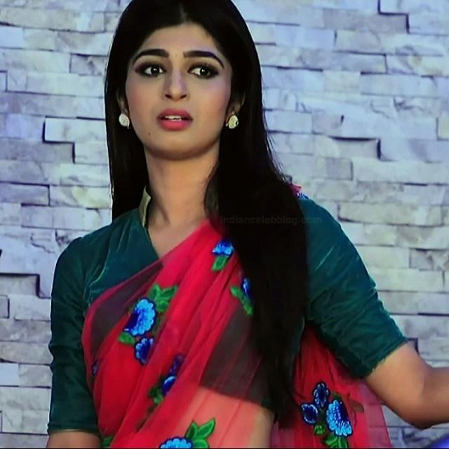 Aditi prabhudeva kannada tv actress Nagakannike S1 6 saree photo
