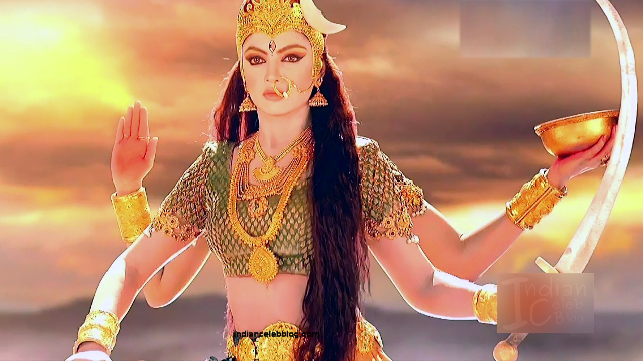 Akansha puri hindi tv actress Ganesha GS2 15 Adi parashakti image