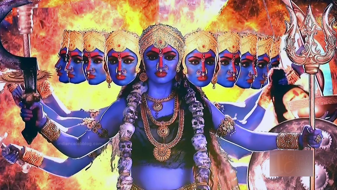 Akansha puri hindi tv actress Vighnaharta GS2 17 Adi parashakti image