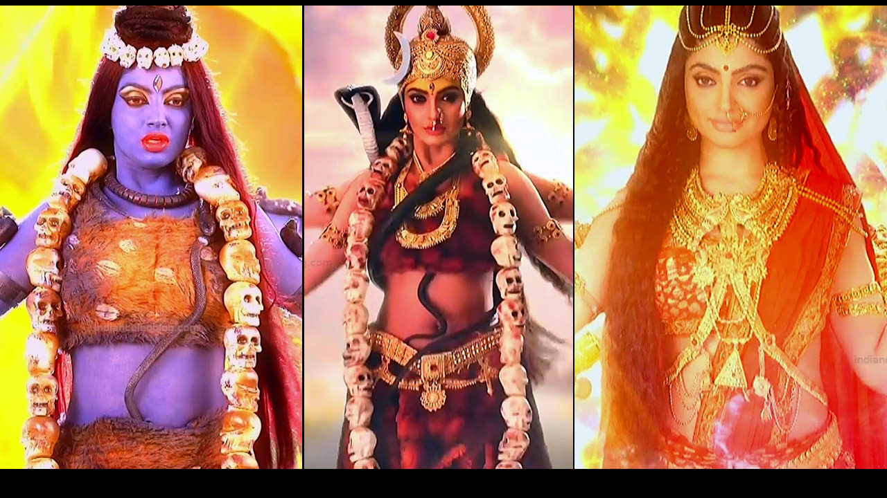 Akansha Puri HD caps Hindi tv serial Vighnaharta ganesha