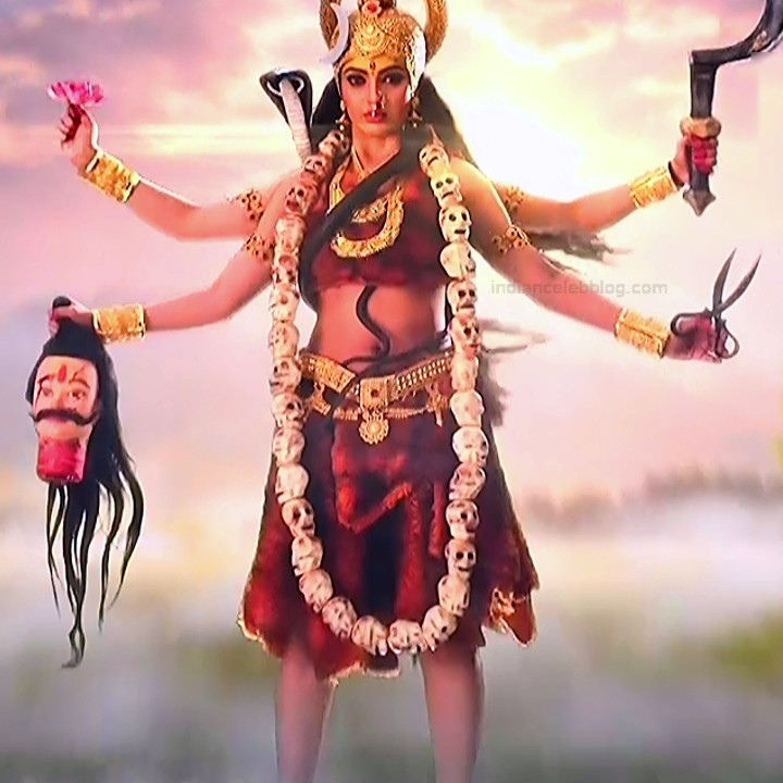 Akansha puri hindi tv actress Vighnaharta GS2 4 Adi parashakti photo