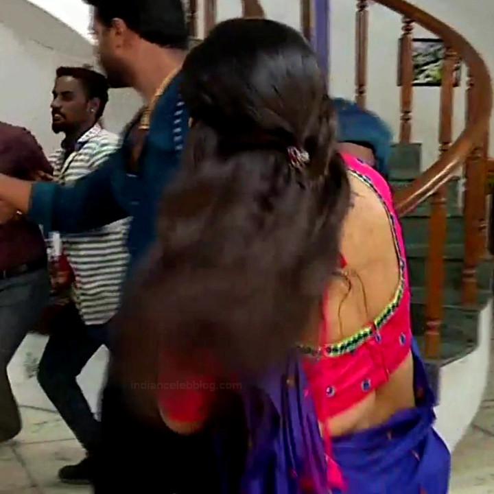 Divya ganesh tamil serial actress sumangali S4 11 sari caps