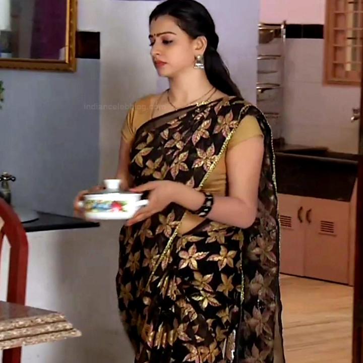 Divya ganesh tamil serial actress sumangali S4 14 saree photo