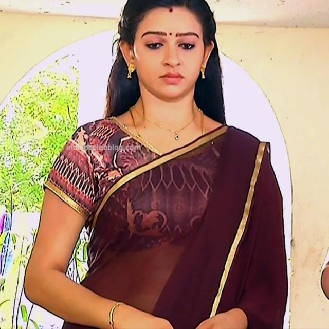 Divya ganesh tamil serial actress sumangali S4 9 hot sari photo