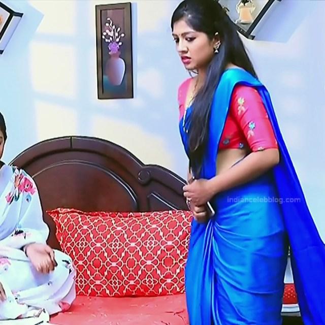 Meghana shankarappa kannada serial actress kinnari 10 sari caps