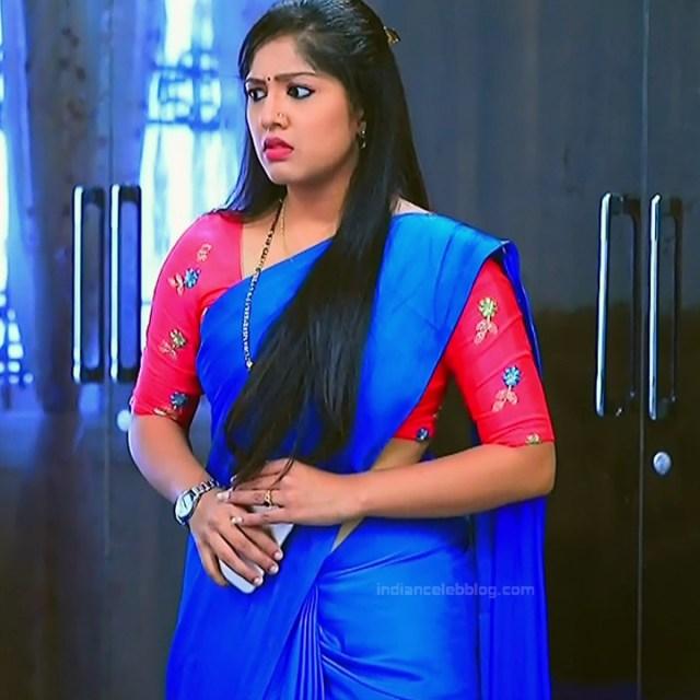 Meghana shankarappa kannada serial actress kinnari 12 saree photo