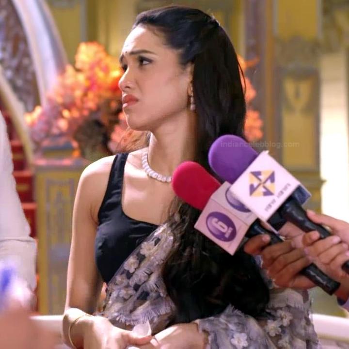 Priyanka bora hindi tv actress Siddhi VS1 14 hot saree caps