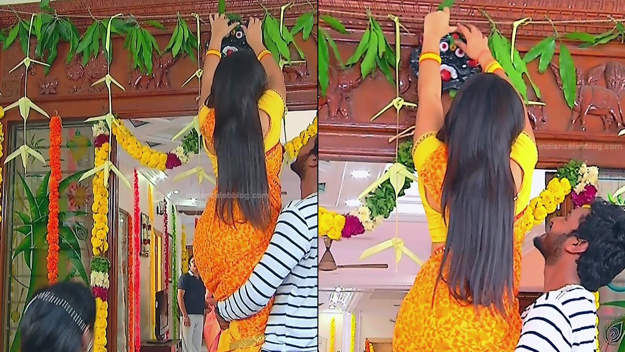 Priyanka nalkar tamil serial actress roja s1 9 saree pics
