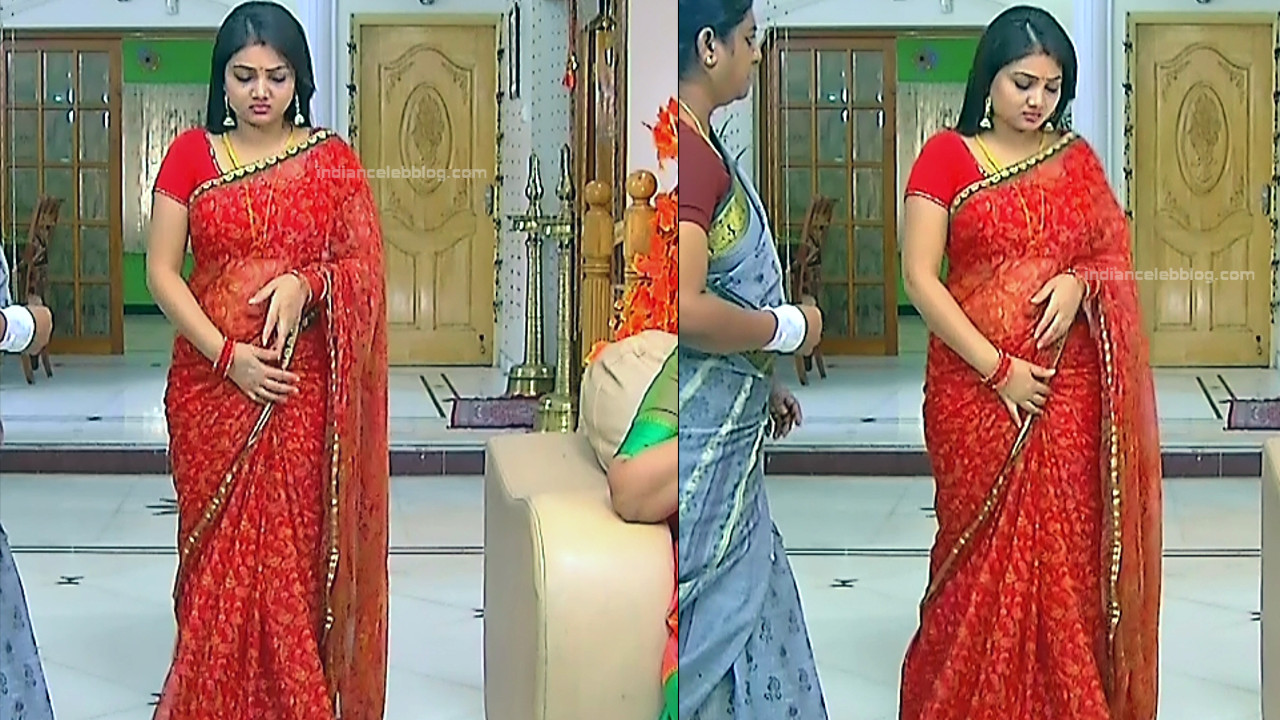 Priyanka nalkari tamil serial actress roja s1 3 hot saree pics