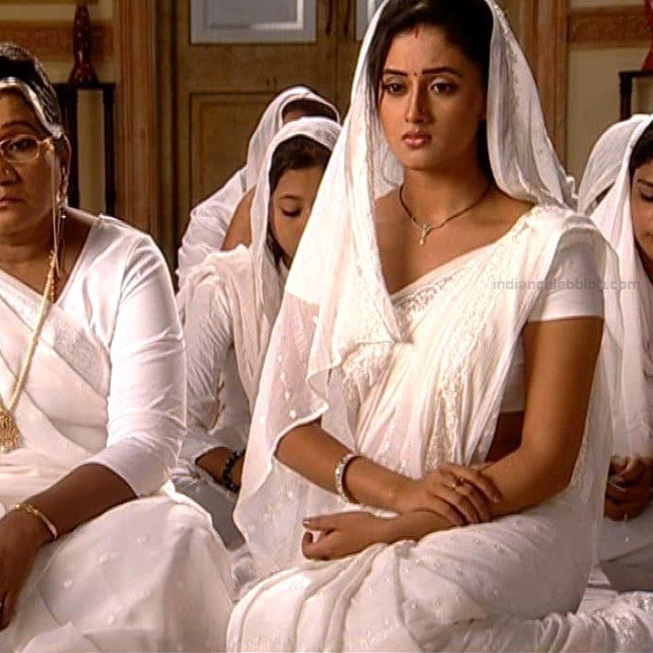 Rashami Desai hindi tv actress Uttaran S1 10 sari photo